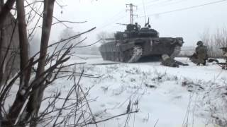 Ukraine War: Pro-Russian troops ambushed in Debaltseve - Ополченцы засаду Дебальцево