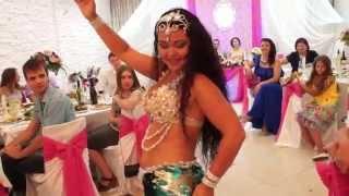 Танец живота  на свадьбе в Саратове / восточный танец Annet