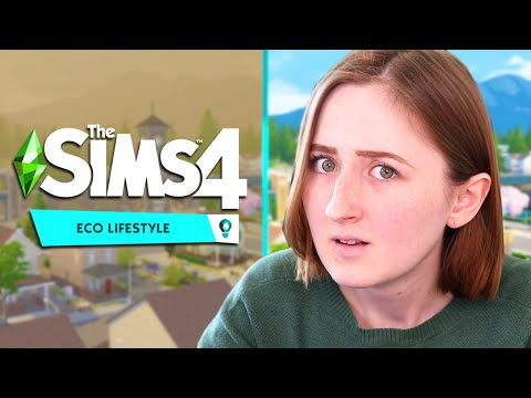The new expansion for The Sims 4 looks... interesting (Eco Lifestyle Trailer Reaction)