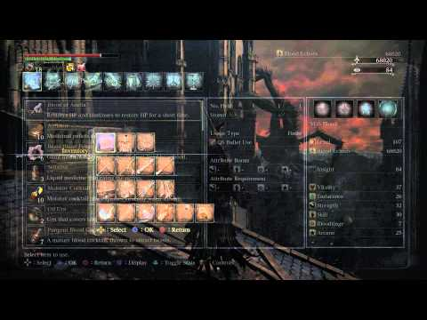 Bloodborne NG + - Grand Cathedral: Black Messenger Hat Location Gameplay (Near Gran Cathedral) PS4