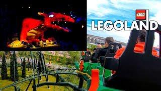"Take a ride on ""The Dragon"" at Legoland Japan! Part Dark ride - Par..."