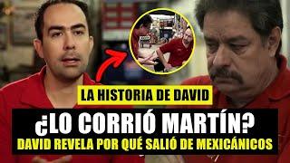 ¿Martín Vaca DESPIDIÓ al diseñador de Mexicánicos?   Historia de David   ¿Cómo llegó al taller Vaca?