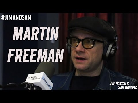 Martin Freeman - The Office, Fargo, Sherlock, Career - Jim Norton & Sam Roberts