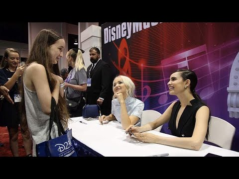 Sofia Carson and Dove Cameron 🔴 Live at Disney Music Emporium