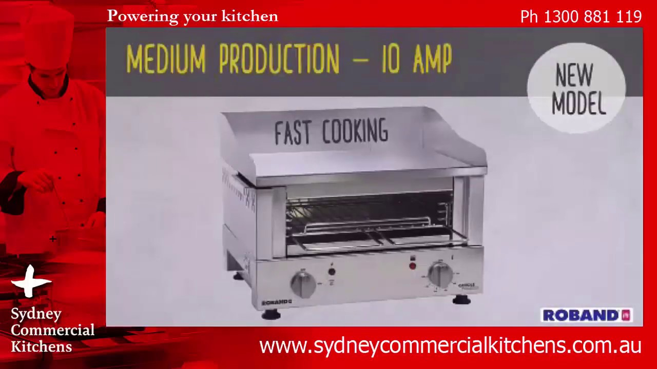 ROBAND Griddles and Griddle Toasters