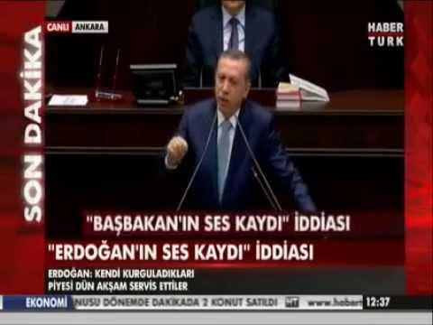 R.Tayyip Erdoğan'dan Bilal Erdoğan Ile Ilgili Montaj Ses Kaydı Açıklaması.
