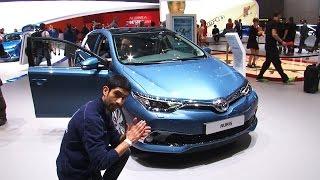 Nuova Toyota Auris, un restyling tecnologico | Salone di Ginevra 2015