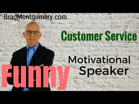 "Funny Customer Service Motivational Speaker | Why ""Fine ..."