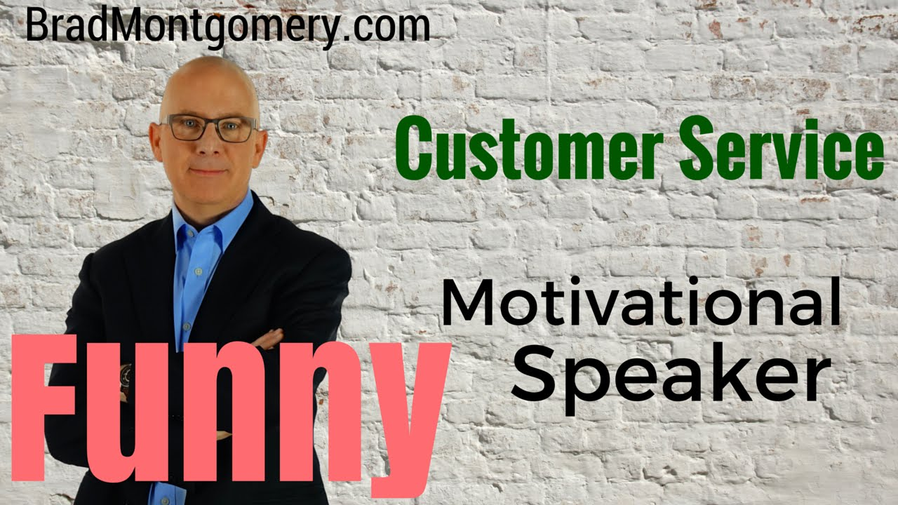 motivational customer service Motivational customer service keynote speaker, expert and author shep hyken specializes in customer service, loyalty, engagement and customer experience.
