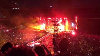 Fix You-Coldplay live at San Siro (Milan) 04-07-17