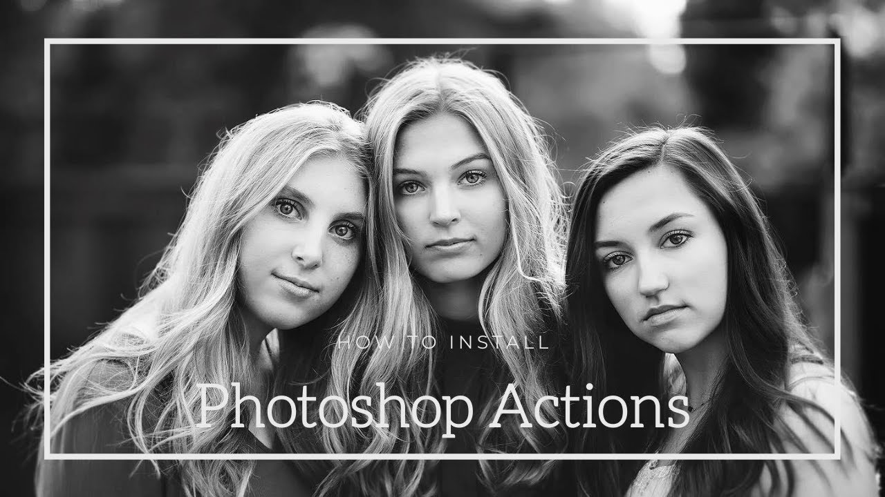 How To Install Photoshop Actions For PSE 11 and Up by Jackie Jean