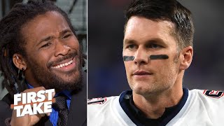Tom Brady's age showed against youthful QB Lamar Jackson - DeAngelo Williams | First Take
