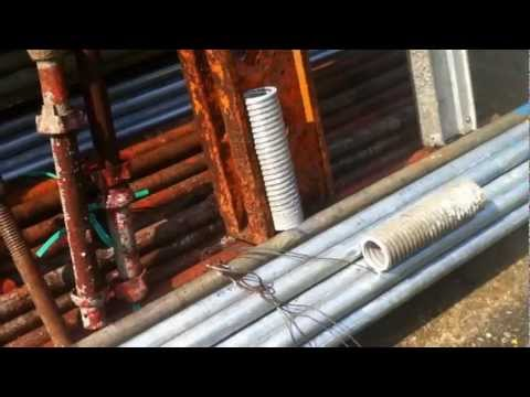 Creative Engineering Solutions Malaysia- Cement Removal on Formwork