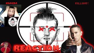 """FINALLY! Eminem Responses to MGK Diss! """"Killshot"""" Reaction"""