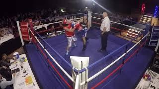 Ultra White Collar Boxing | Preston | Stehen Taylor VS Nick
