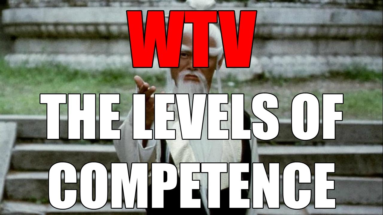 What You Need To Know About The LEVELS Of COMPETENCE