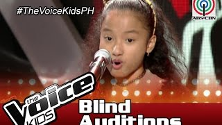 """The Voice Kids Philippines Blind Auditions 2016: """"Chinito"""" by Maxine"""