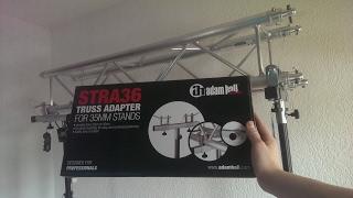 Unboxing Adam Hall TRA 36 - Truss Adapter Ø35mm German/Deutsch