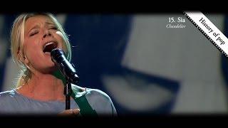 Nathalie Meskens zingt 100 jaar muziekgeschiedenis aan elkaar!  | Tegen De Sterren Op | VTM