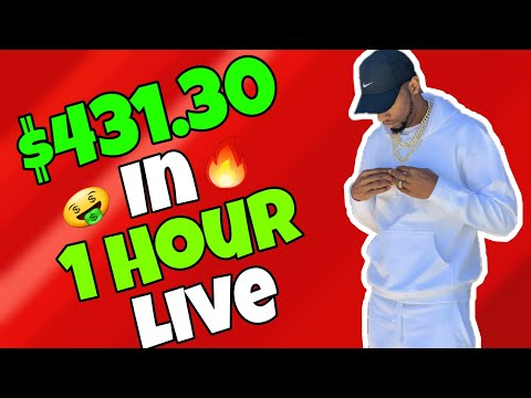FOREX TRADER MAKES $431.30 IN 1 HOUR LIVE | FOREX TRADING 2020 |  TRADERSWAY WITHDRAWAL 2020
