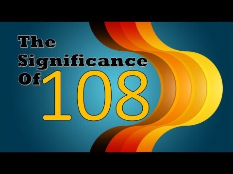 Astrological significance of number 108