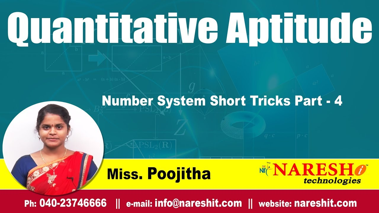 Quantitative aptitude tutorial: shortcut methods to solve age.