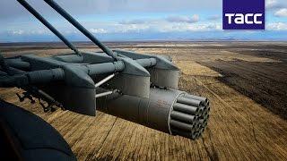 Вертолетчики ракетными и бомбовыми ударами поразили цели на учениях в Сибири(Вертолетчики авиабазы