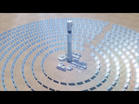 Dubai to operate world's largest concentrated solar power project