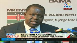CS Matiang'i reads riot act to those propagating hate and fanning chaos during campaigns