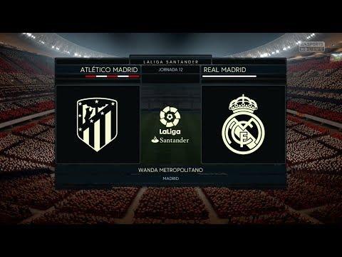 Atlético de Madrid-Real Madrid: Simulación FIFA 18   Diario AS