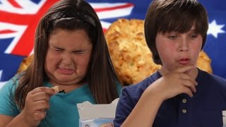 American Kids Taste Test Aussie Bickies (Cookies)