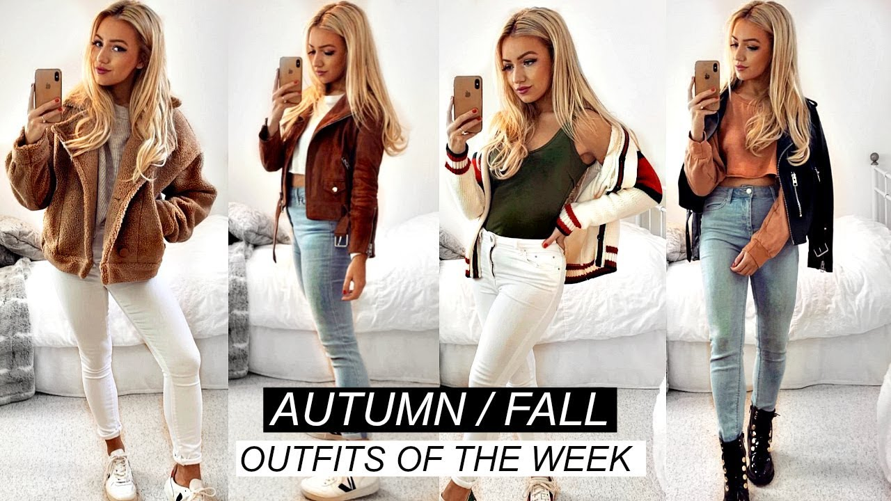 AUTUMN FALL OUTFITS OF THE WEEK 2019