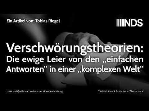 """Verschwörungstheorien: Die ewige Leier von den """"einfachen Antworten"""" in einer """"komplexen Welt"""""""