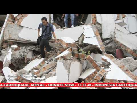Indonesian Earthquake Appeal - STIR our world, donate now to World Vision