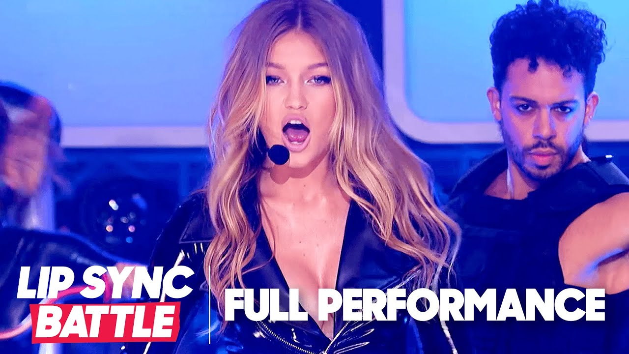 """Gigi Hadid Performs """"That's Not My Name"""" & """"Larger Than Life"""" w/ Surprise Guests! 