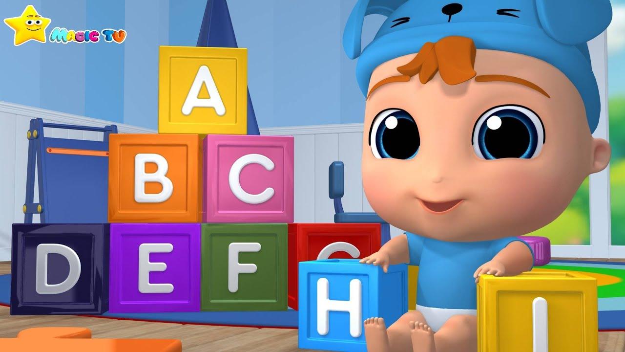 ABC Song  Nursery Rhymes & Kids Songs   Magic TV