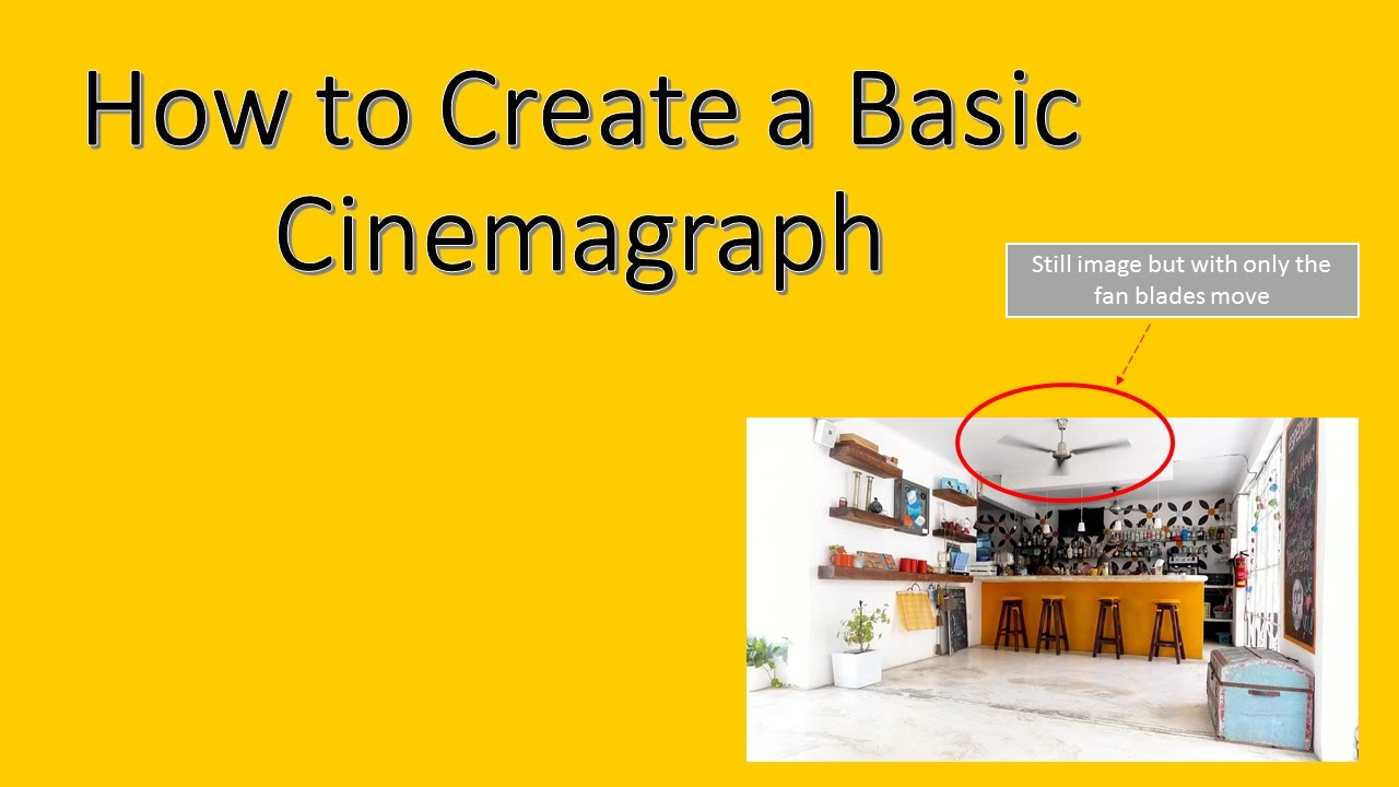 how to make a cinemagraph cs5.5