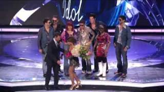Download Adam Lambert   -  Disco Group Dance  -  Top 7 Reloaded Results  -  22/04/09 Mp3 and Videos