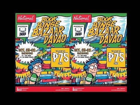 National Book Store Book Binge Bazaar @ SM Lanang, Davao City