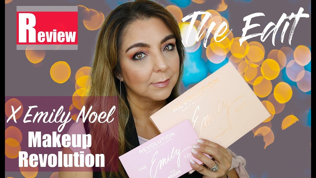 Makeup revolution emily noel the needs
