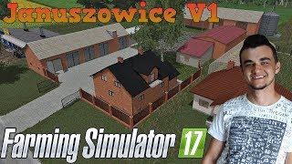 Farming Simulator 17 ☆ Sprawdzanie map #21 Januszowice V1