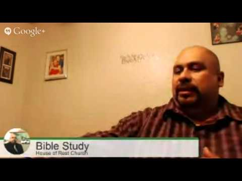Bible Study - House of Rest