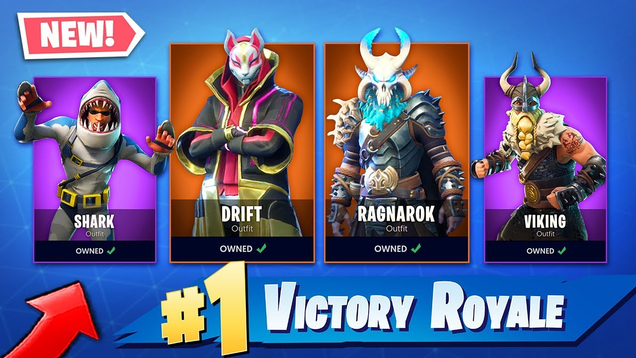 New Season 5 Leaked Skins In Fortnite Battle Royale Legendary