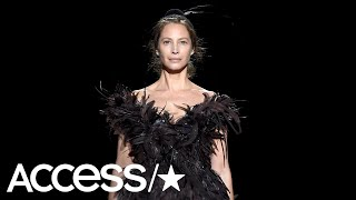 Christy Turlington Returned To The Runway At Age 50 & Crushed It, Of Course | Access
