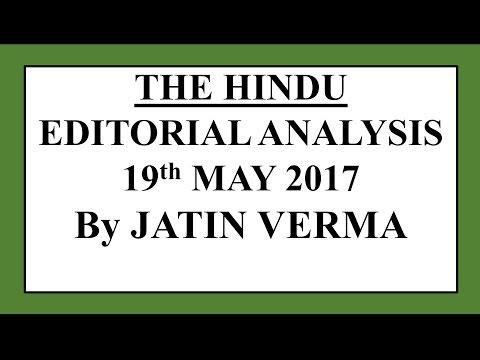 (HINDI) 19 May 2017 THE HINDU EDITORIAL Analysis [Nuclear reactors]