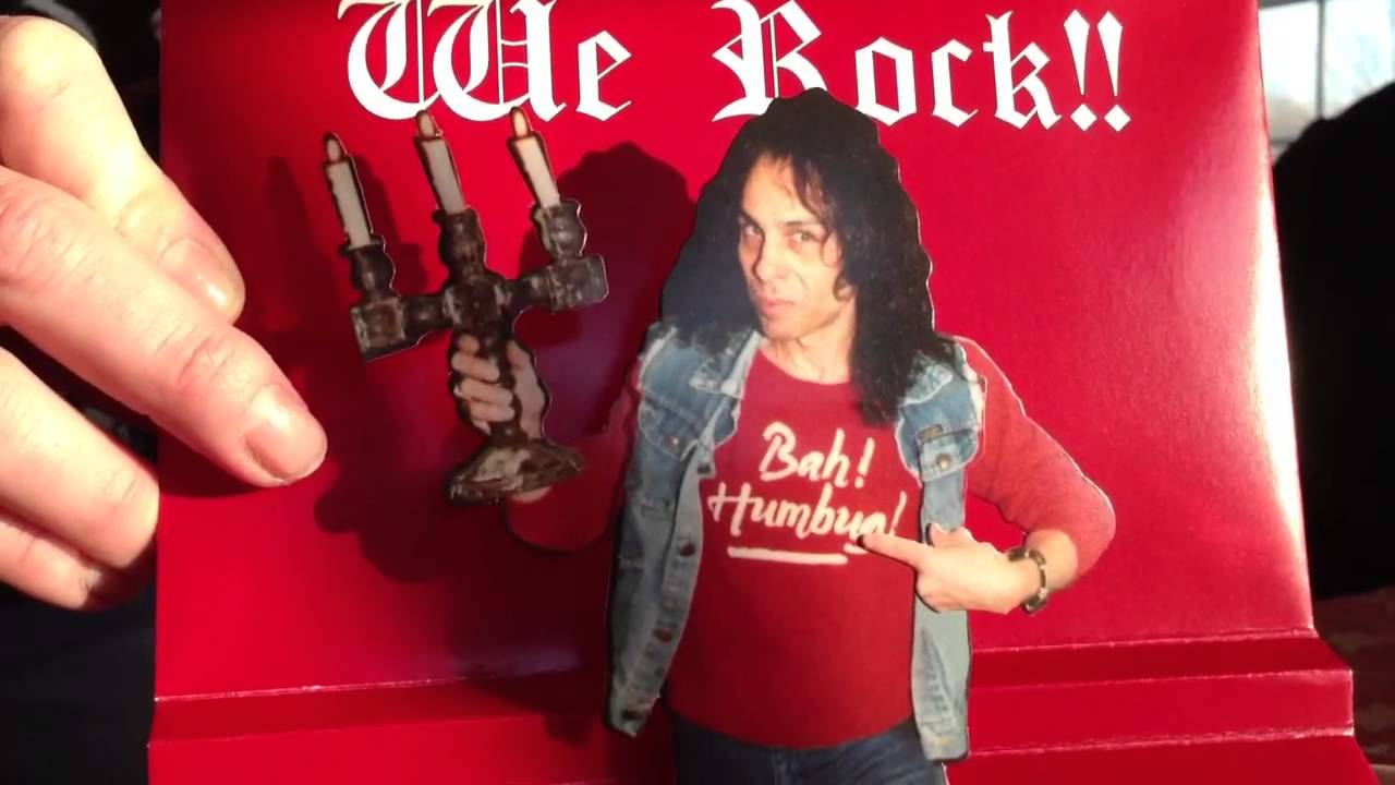 Ronnie James Dio- Heavy Metal Christmas Card - YouTube