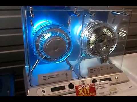 Стиральная Машина Макет the layout of the washing machine with direct drive and belt