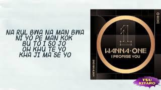 WANNA ONE - BOOMERANG Lyrics (karaoke with easy lyrics)