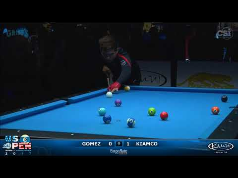 2017 US Open 10-Ball: Gomez vs Kiamco
