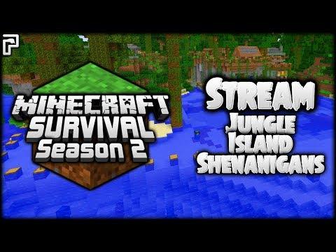 Minecraft Survival | Jungle Island Shenanigans! | Let's Play Minecraft Survival [LIVESTREAM]